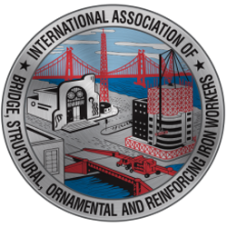 International Association of Bridge, Structural, Ornamental and Reinforcing Iron Workers logo