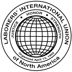 Laborer's International Union of North America logo