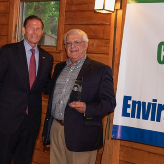 PSEG accept environmental champion award