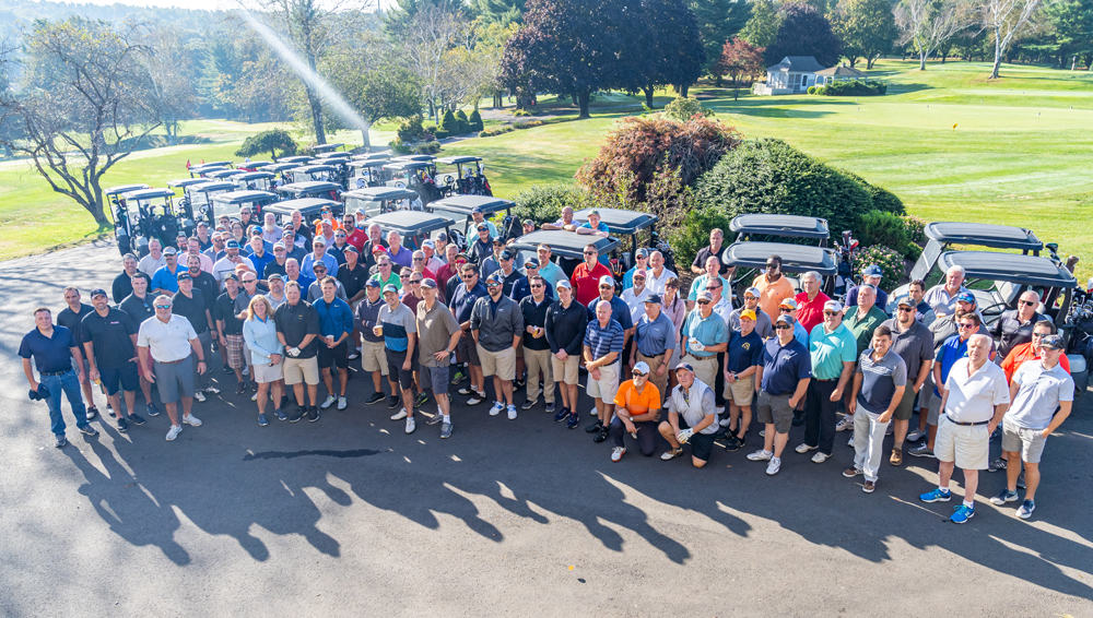 Group photo of Connecticut Energy Partners Golf Classic team